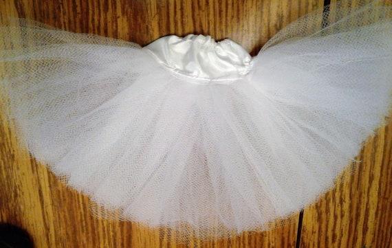 Lot of 2  full length petticoat crinoline Ellowyne Wilde msd bjd White