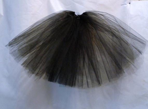 New petticoat Ellowyne msd 1//4 drop waist black full length petticoat