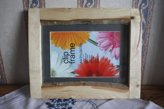 12x8 A4 Wooden Photo Frame Etsy