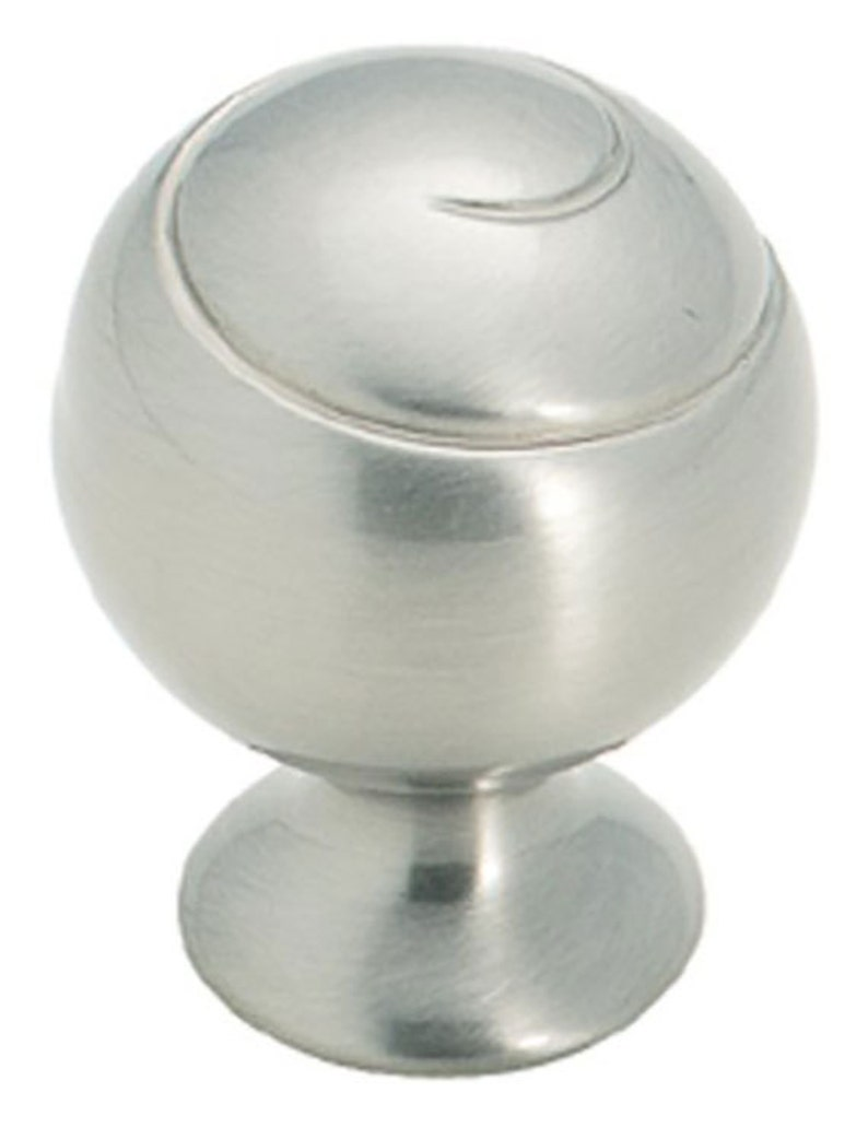 Bi-fold Doors Kitchen Cabinets Satin Nickel Ball Knobs for Furniture