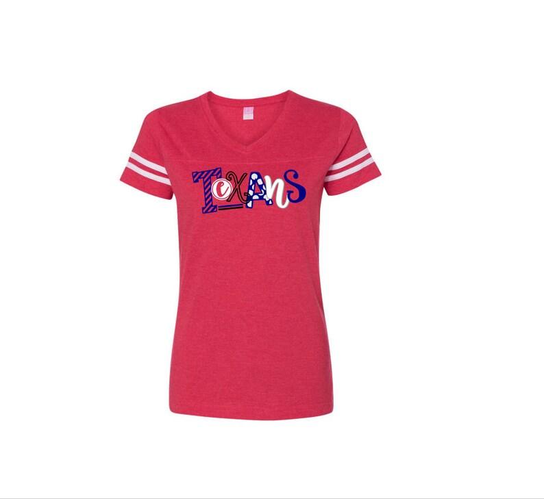 best sneakers 9468c ef3d8 Houston Texans Shirt | Texans Women's Football Jersey Style shirt | Game  Day Shirt