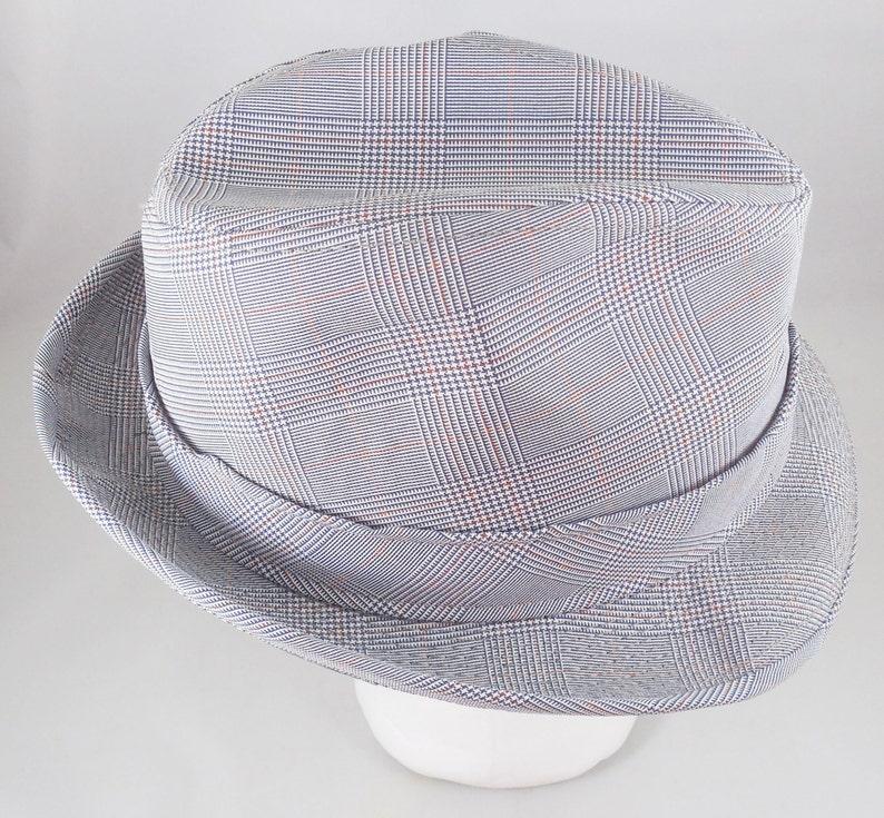 53e379716e4 Harvard Fedora Custom Tailored Hat Vintage Tweed Hat Size 7