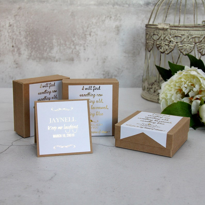 Set Of 3 Bridesmaid Boxes For Bridesmaids Gift Boxes With Lids Bridesmaid Thank You