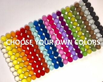 7e478c57683e7 300 Wool Felt Balls (2cm) Choose Your Own Colour(s) - Wholesale