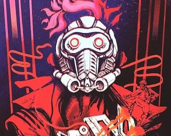 Star Lord - Red Mirror Ed. Gold Metallic