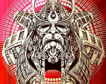 Samurai: Red Mirror - Gold Metallic Ed.