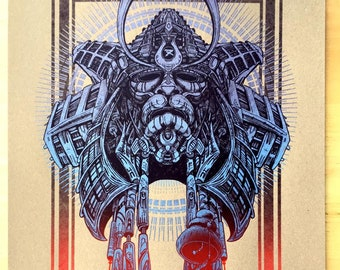 Samurai - Vintage Metallic Blue Ed.
