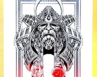 Samurai - Graphic White edition
