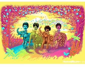 Sgt Pepper's 50th Anniversary art print