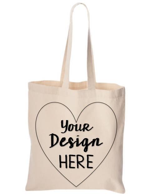 custom 6 oz tote bags reusable canvas tote bag custom wedding