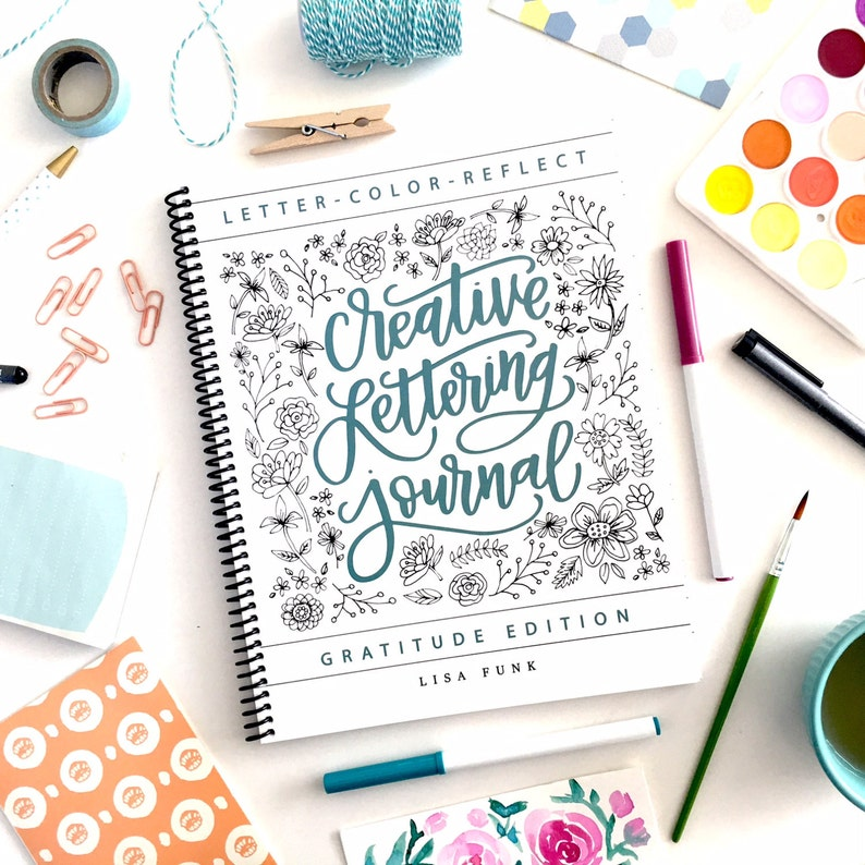7ab74e7754f08 Creative Lettering Journal