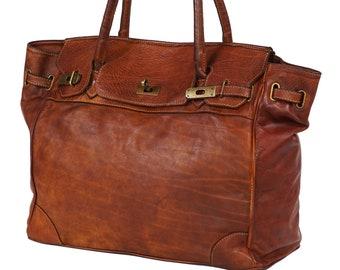 e26cd57572 Big leather bag