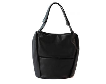 Hobo Purse, Hobo Shoulder Bag, Shoulder Hobo Bag, Black Hobo Bag, Leather Hobo Bag, Women Hobo Bag, Large Leather Hobo, Slouchy Hobo Bag