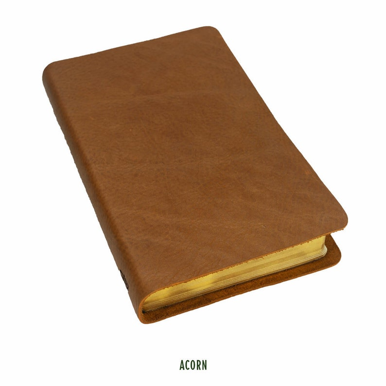 ESV Large Print Reference Bible, Full Grain Cowhide Leather