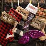 Custom Personalized Embroidered Christmas Stockings