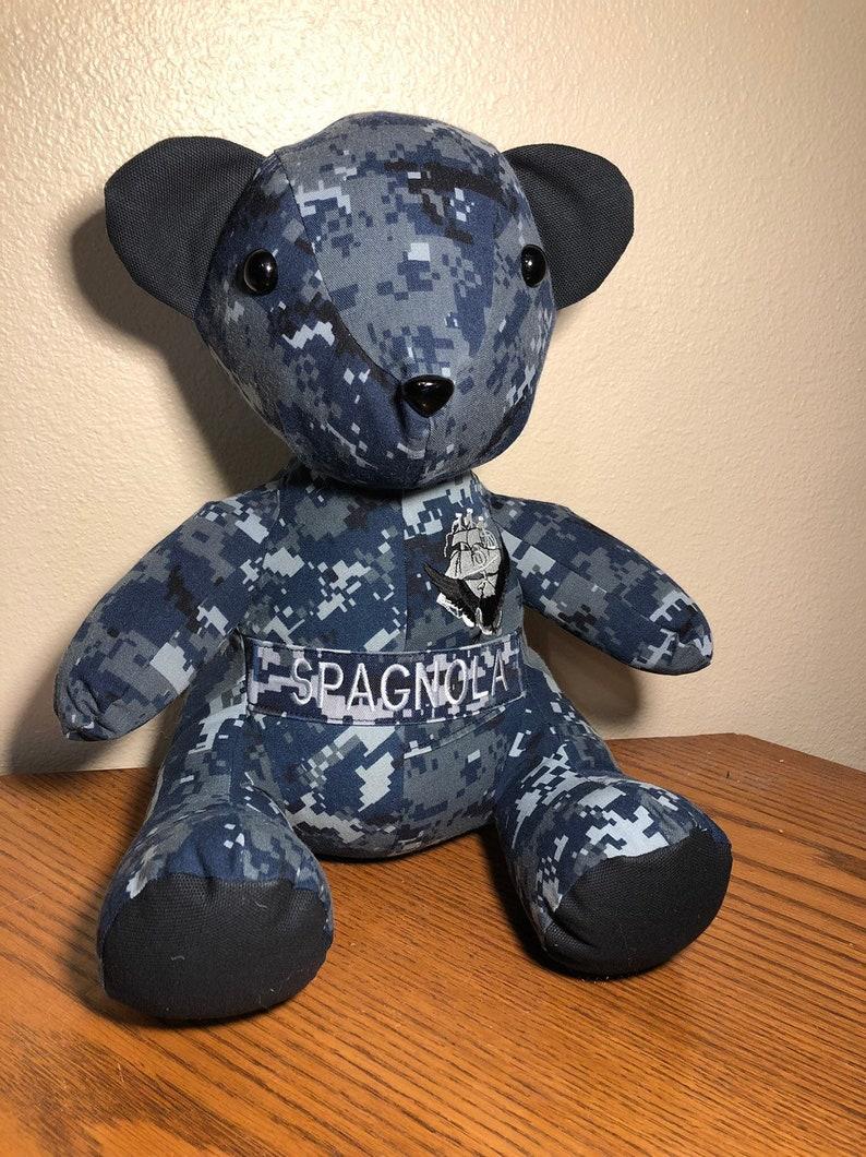 Memory  Keepsake Teddy Bear