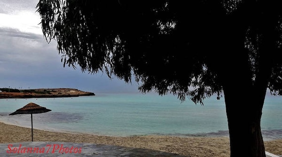 AYIA NAPA, Nissi Beach, Cyprus Photography, Seascape, Wall Hanging Art
