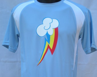 Rainbow Dash Cutie Mark Athletic Jersey