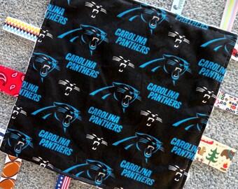 24f5bca9d New York Jets Baby Lovey Blanket Sensory Blanket Green Minky