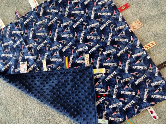 hot sale online bc6a0 fbdae New England Patriots Sensory Blanket, New England Patriots Baby,Patriots  Baby Blanket,I Spy Blanket,NFL Sensory Blanket,Patriots Baby Shower