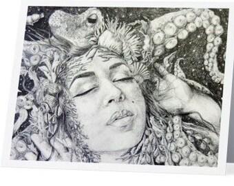 Sea Creature - Post Card