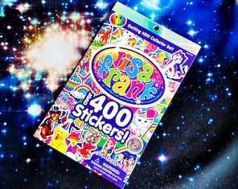 NEW Lisa Frank Sticker Book (Over 400 stickers inside)