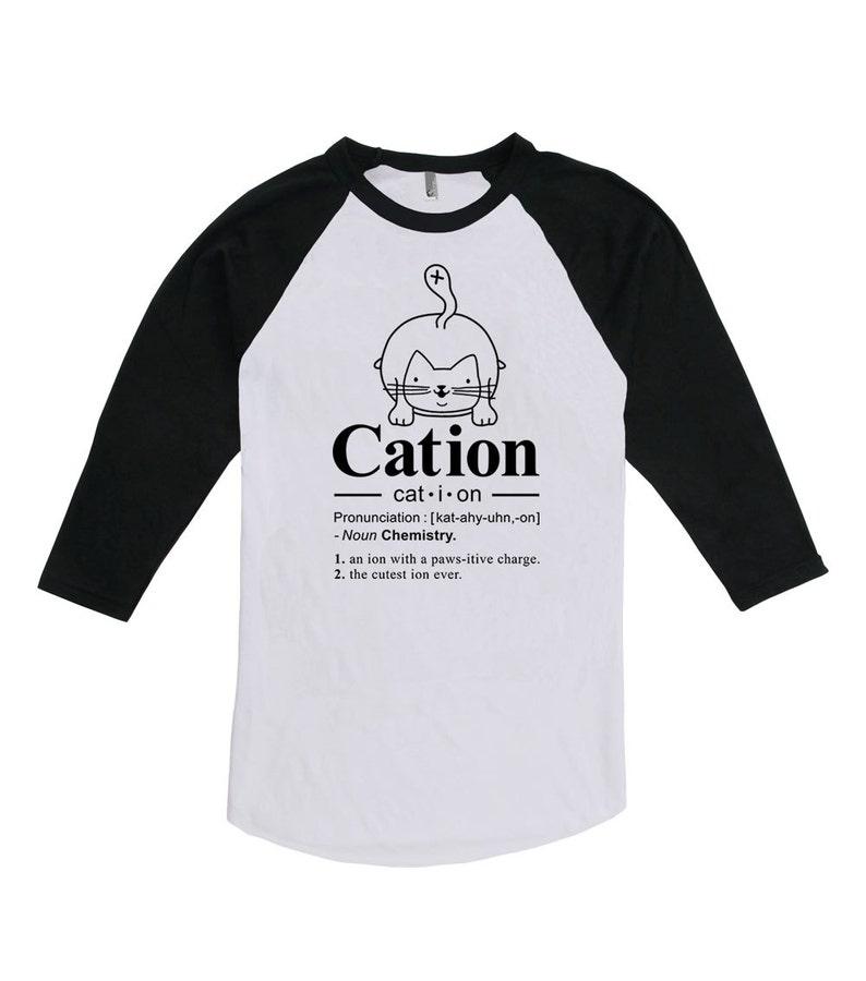 e57e84dea17 Funny Cat Shirt Cat-ion Chemistry Gift Cat Lover Shirt Kitten