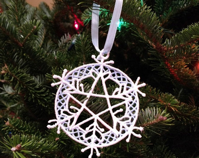 Five Elements Snowflake Ornament