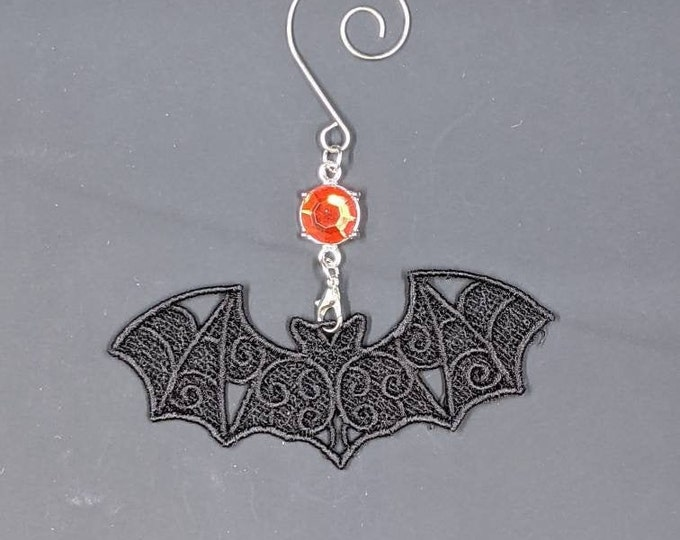 Spooky Bat Ornament