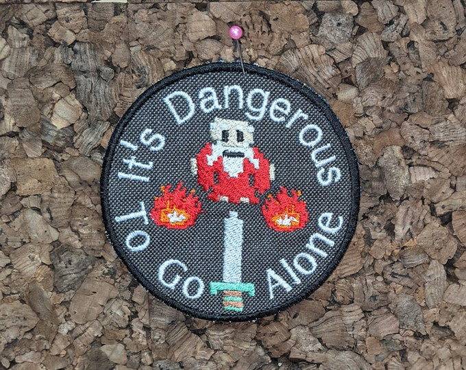It's Dangerous to Go Alone Patch
