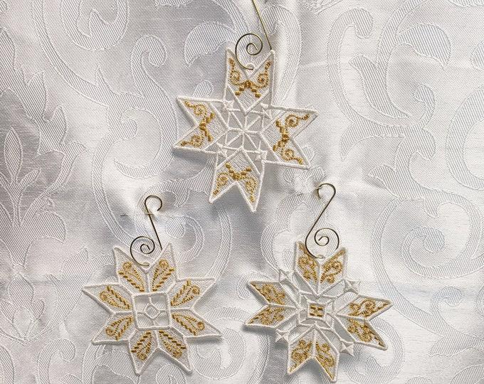 Snowflake Trio