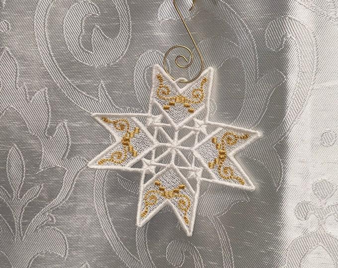Sparkling Snowflake Ornament