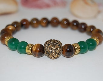 Lion Head Bracelet Etsy