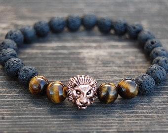 Animal Jewelry Safari Zoo Gift Africa Wildlife Monogram Bangle Lion Bangle Bracelet Lion Charm Bracelet Zoologists Gift Leo Bracelet