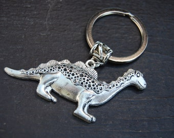 Dinosaur Keychain,Dinosaur Charm Keychain,Car,Bag,Purse,Yoga,Boho,Dinosaur Lover Keychain,Dinosaur Gift