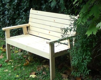 An easy to make Bench Seat | PDF downloadable file