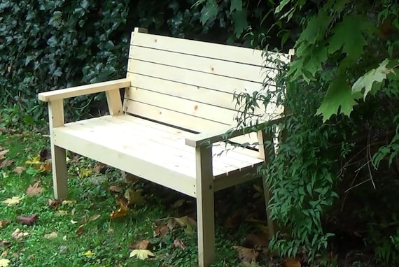 Admirable An Easy To Make Bench Seat Pdf Downloadable File Machost Co Dining Chair Design Ideas Machostcouk