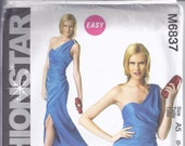 McCalls Sewing Pattern M6837 from 2013, Misses Close fitting, lined Dress. Bust 30 1 2-36, UNCUT Easy. quot Fashion Star quot