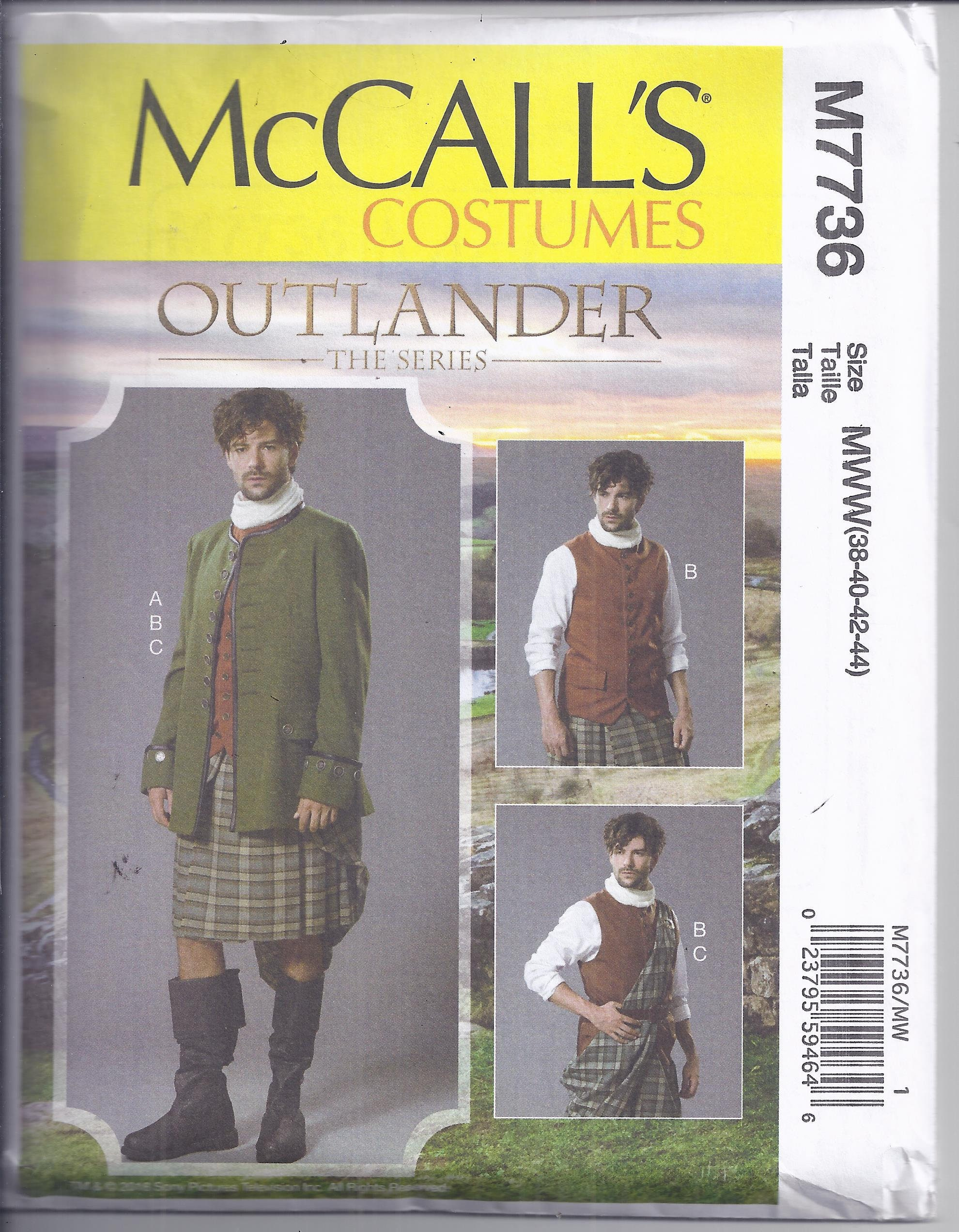 Kilt Sewing Pattern Simple Decoration