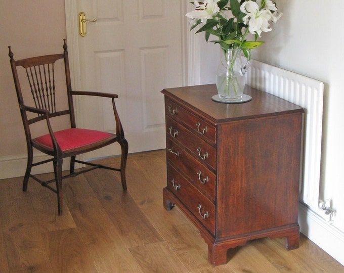 George III & Later Mahogany Commode Chest of Drawers