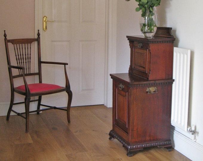 Victorian Mahogany Purdonium cum Side or Bedside Cabinet