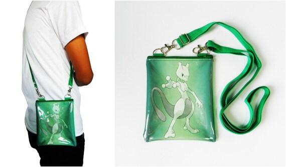 09177f68977c Pokemon Mewtwo Bag Clear Transparent Pvc Vinyl Plastic Pouch