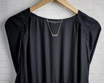 Eyeglasses necklace unique jewelry hippie jewelry boho jewelry dainty necklace minimalist necklace everyday necklace  hippie necklace
