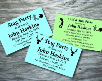 Stag or Golf & Stag Tickets - *Retirement Party, BBQ, Benefit, Concert, Event*
