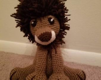 Handmade Crochet Lion
