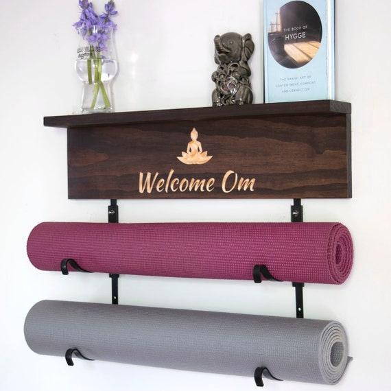 Wandhalterung Yoga Matte Schaumstoffrolle Handtuchhalter Fitness Class Home Gym