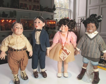 Dolls The Hamilton Collection of The Little Rascals