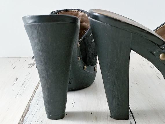 Vintage L.E.I. Clogs · Mules · Womens Shoes · 199… - image 3