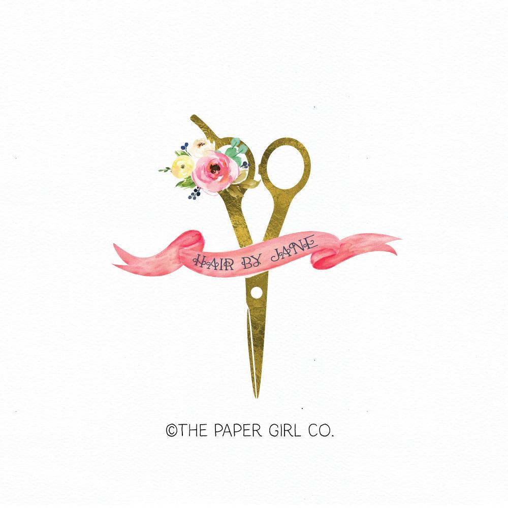 Hair salon logo hair dresser logo hair stylist logo beauty zoom thecheapjerseys Gallery