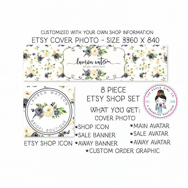 61bb741c52634 etsy shop set flower shop set boutique shop set premade shop set rose shop  set peony shop set ranunculus shop set shop icon etsy shop banner